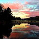 Gorgeous views at Grafton Ponds Outdoor Center