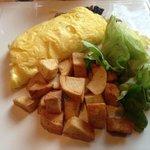 Steak Omelet