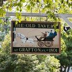 The historic Grafton Inn, home of The Old Tavern Restaurant