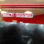 Famous Steak Burgers sign