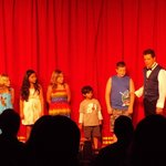 kids at the magic show!