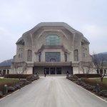 Visite indispensable quand on est a Dornach en Soleure. Le Goetheanum est un immense bâtiment a