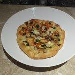 Duck pizza