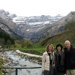 the perfect photo op at Gavarnie!