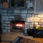 Fireplace in the Kingfisher