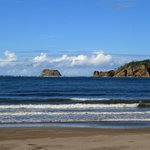 Playa Carrillo Beach is 2km long, quiet, great waves for surfing