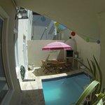 Splash pool area