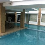 "pool and ""direct pool access"" rooms"
