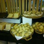 Panes del desayuno