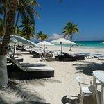 Playa privada de hotel