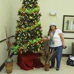 Lobby Halloween tree