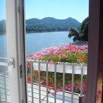 Mein Zimmer mit Balkon und Blick zum Siebengebirge