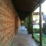 Quiet walkway