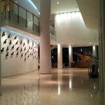Lobby yang luas