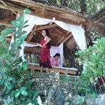 Spa / massage in an adjoining resort.