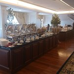 Buffet Breakfast Spread - Executive Club Lounge