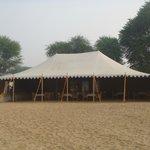Tente restaurant