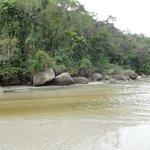 Encontro do rio e o mar