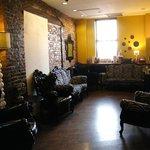 Lobby--coffee & tea lounge
