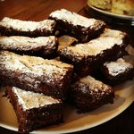 Homemade triple chocolate brownies – and gluten free!