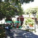 Visão do Restaurante da praça