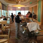 Buffet breakfast on Club Floor level