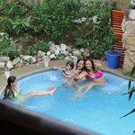 enjoy our heatedd pool