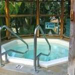 Jacuzzi in pool area