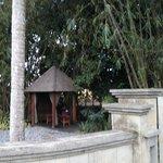Spa hut in the garden