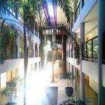 Interior corridors are beautiful.