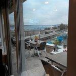 Вид с террасы на Босфор
