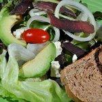 Biltong and Avo salad