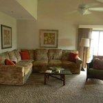 Living room L shaped sofa unit 910