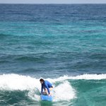 First surfing experience
