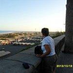 Utsikt över Maspalomasöknen från strandpromenaden.