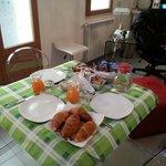 Prima colazione.....