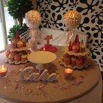 Beautiful 1st birthday table !!