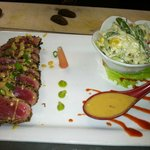 Ahi seared tuna