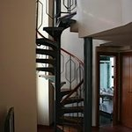 Spiral staircase junior suite room 1201