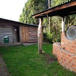 Hot water boiler and additional squat loos