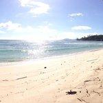 La plage, beaucoup de place pour nous!