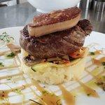 Filet de bœuf au foie gras