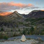© Photo Emmanuel Boitier, Sentinelle de la Vallée de l'Asse, Andy Goldsworthy, 2001