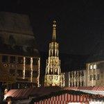 クリスマスマーケットと美しの泉