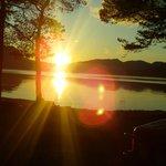 Solnedgang Gloppenfjorden