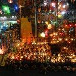 Luminárias e souvenirs