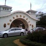 Boardwalk Inn entrance