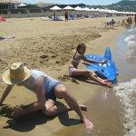 на пляже Альдемара