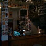 A bit blurred but the bar in the evening!