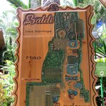 The map of Baldi Hot Springs